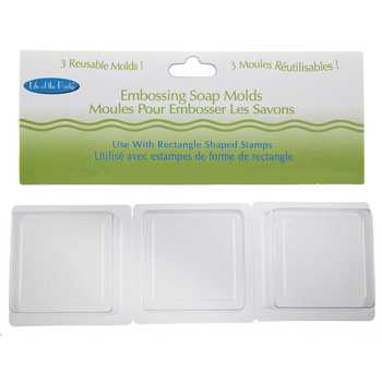 Square Embossing Soap Molds